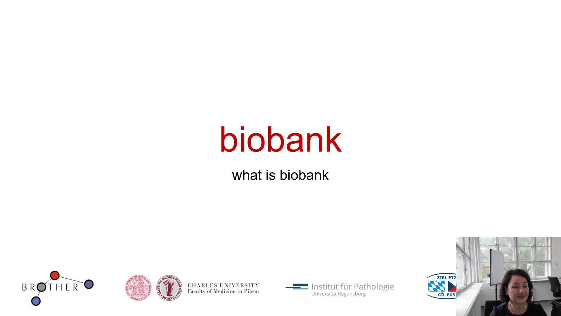 Introduction Biobanking
