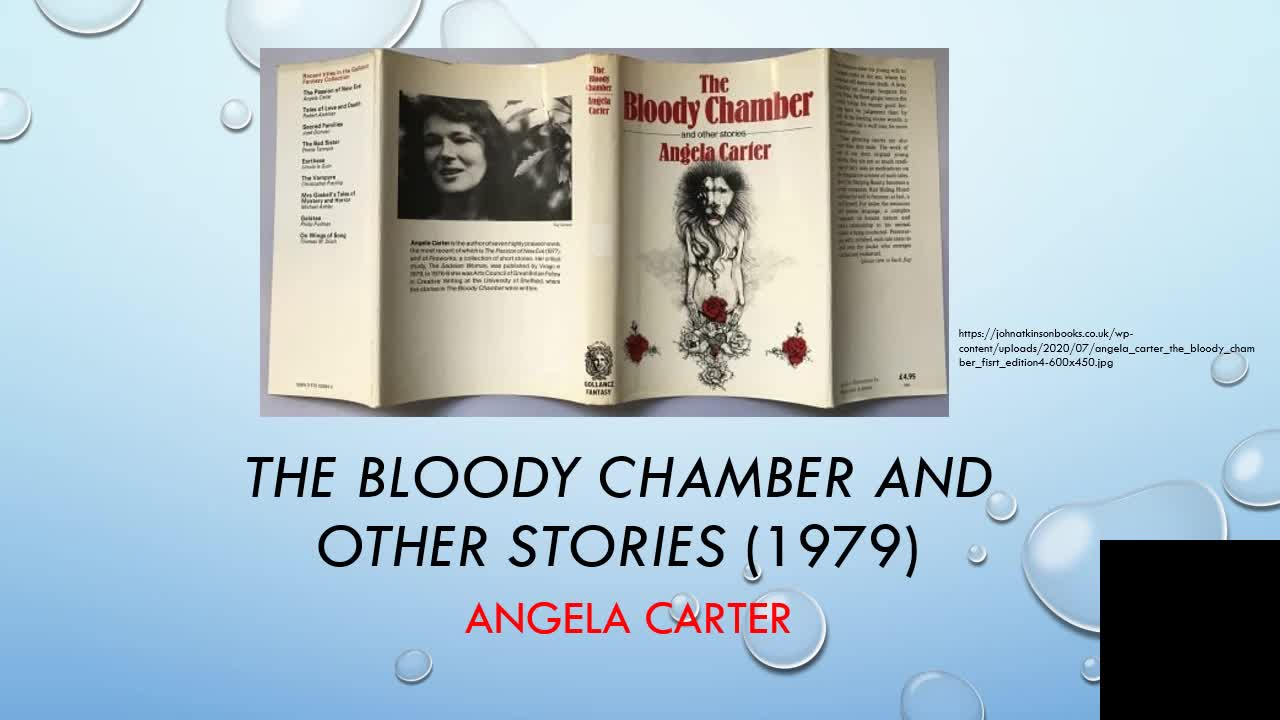 PS3 Experimental Writing Angela Carter