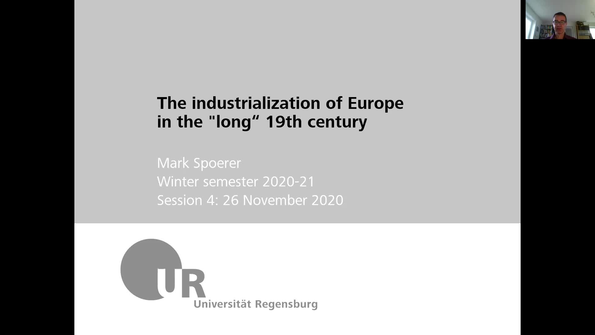 Industrialization - lecture 4