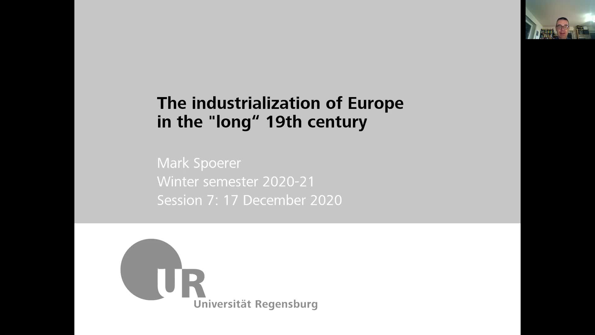 Industrialization - lecture 7