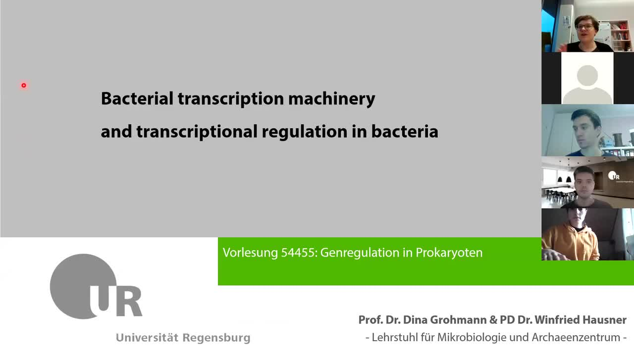 Lecture 8_part 1: Coupling of transcription and translation
