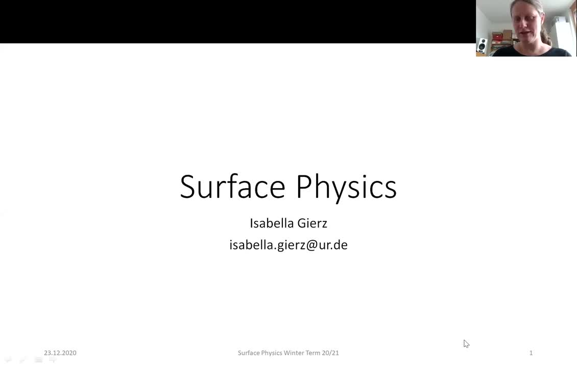 Surface Physics Lecture 20201223: Time-Resolved ARPES Examples