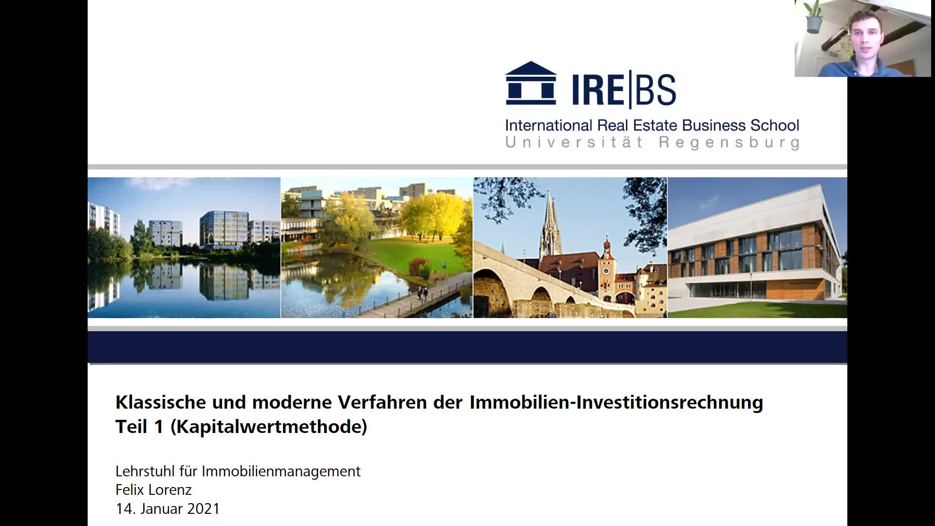 Immobilien-Investitionsrechnung - Teil 1