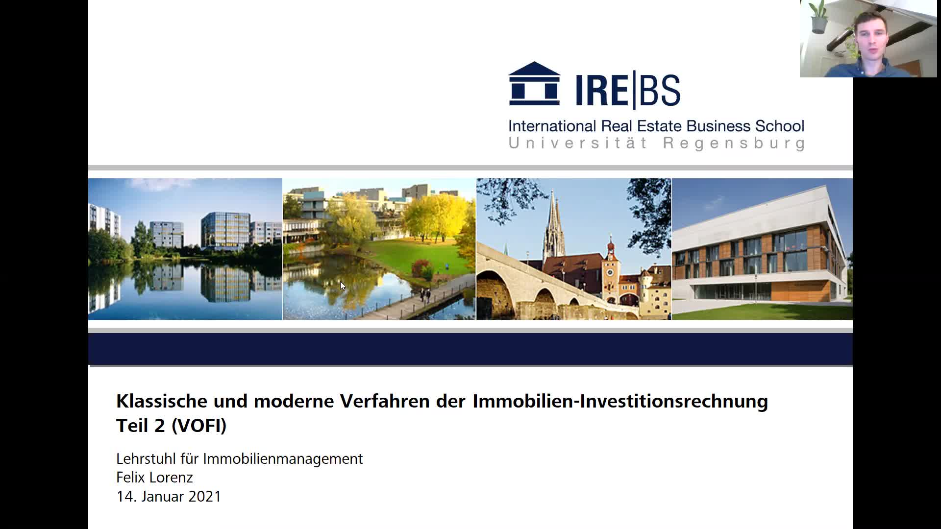 Immobilien-Investitionsrechnung - Teil 2