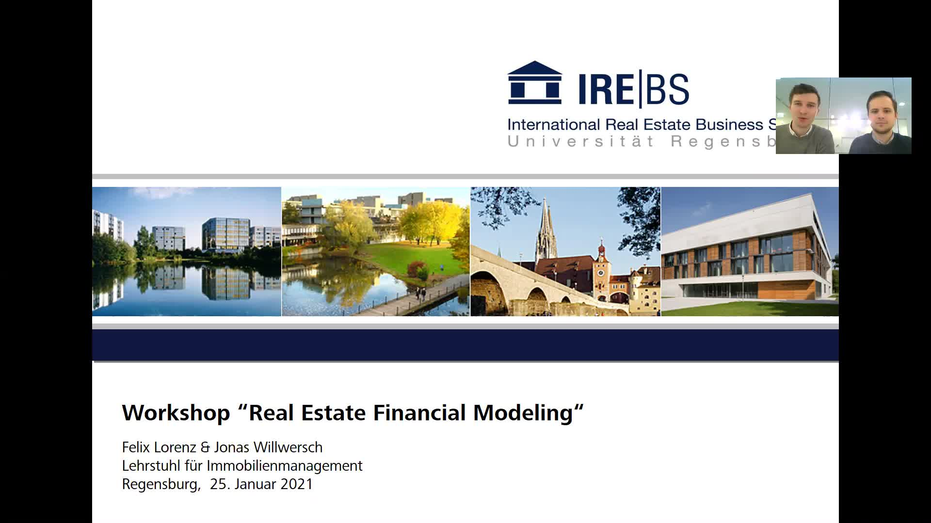 Real Estate Financial Modeling - Teil 1: Grundlagen