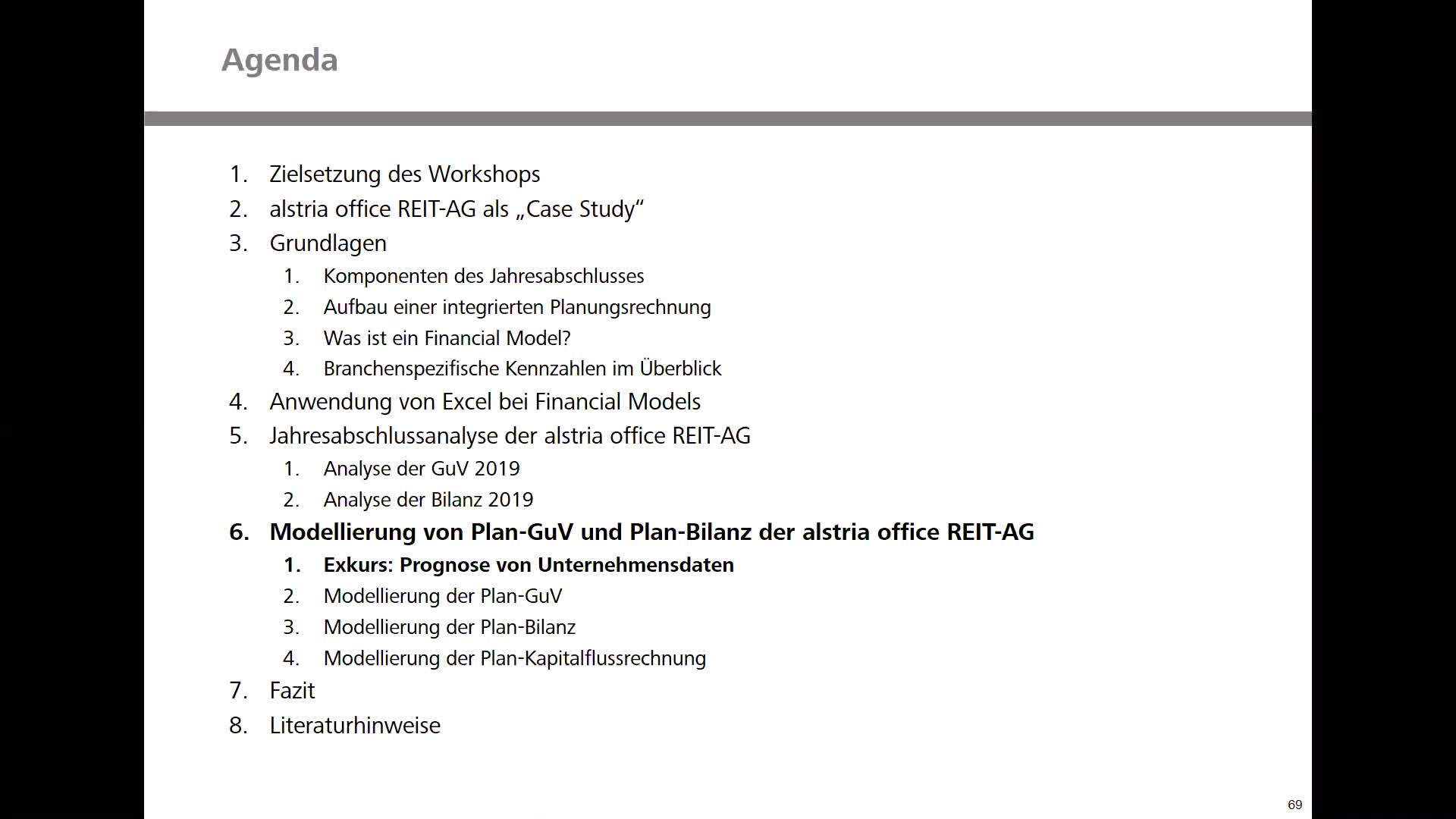 Real Estate Financial Modeling - Teil 4: Modellierung der Plan-GuV