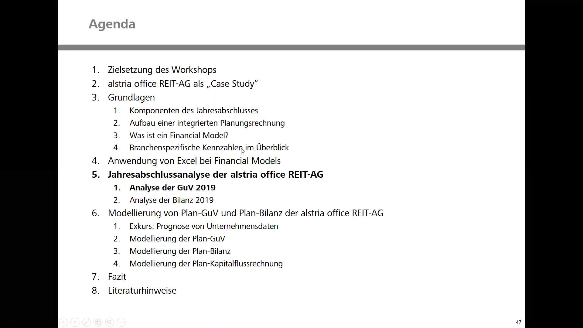 Real Estate Financial Modeling - Teil 2: Analyse der GuV