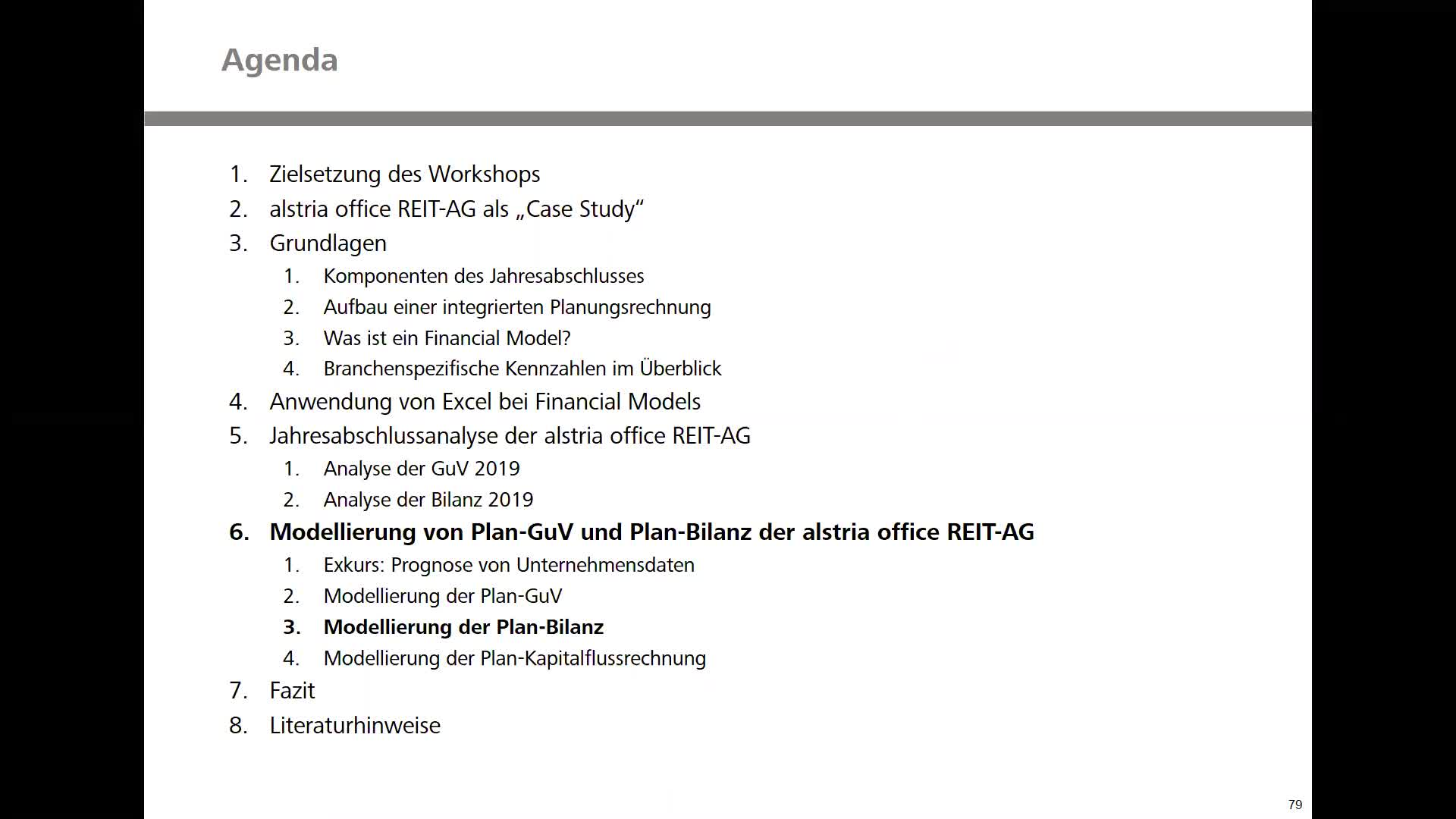 Real Estate Financial Modeling - Teil 5: Modellierung der Plan-Bilanz
