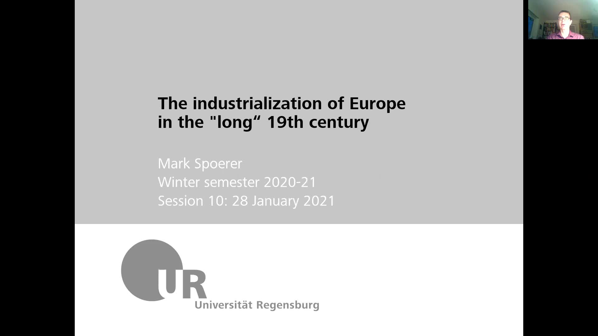 Industrialization - lecture 10