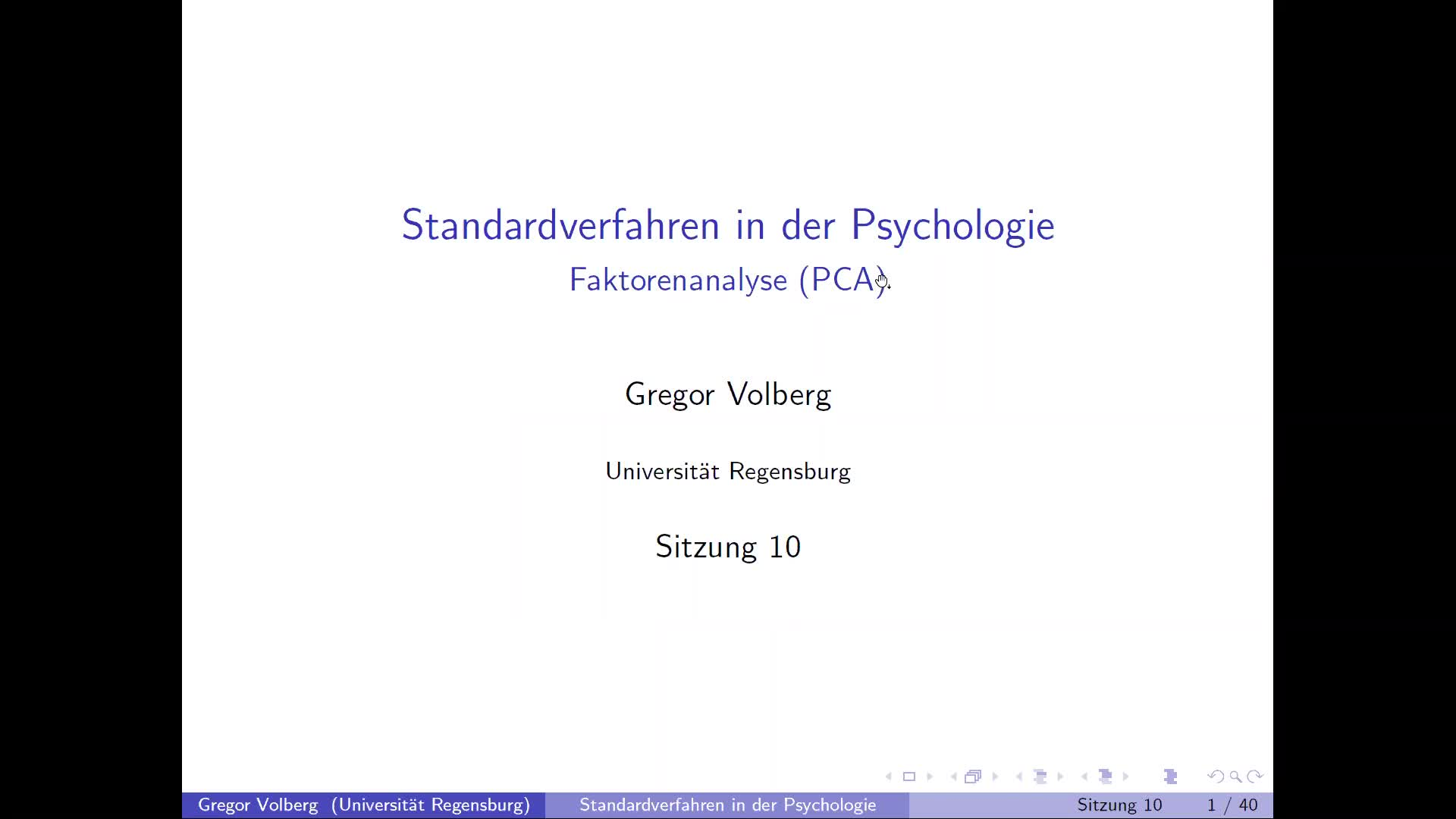 PCA - Theorie
