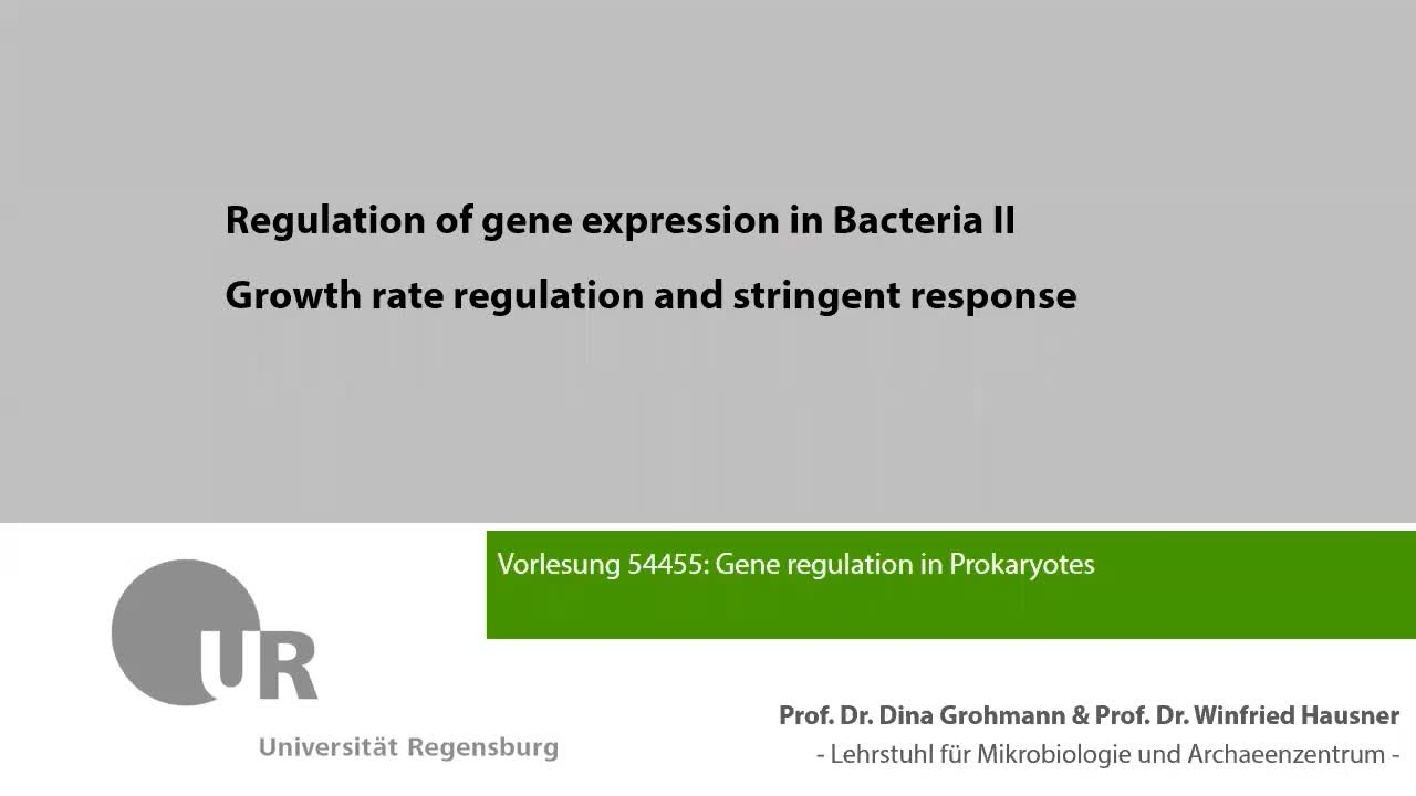 4_Growth rate regulation and stringent response