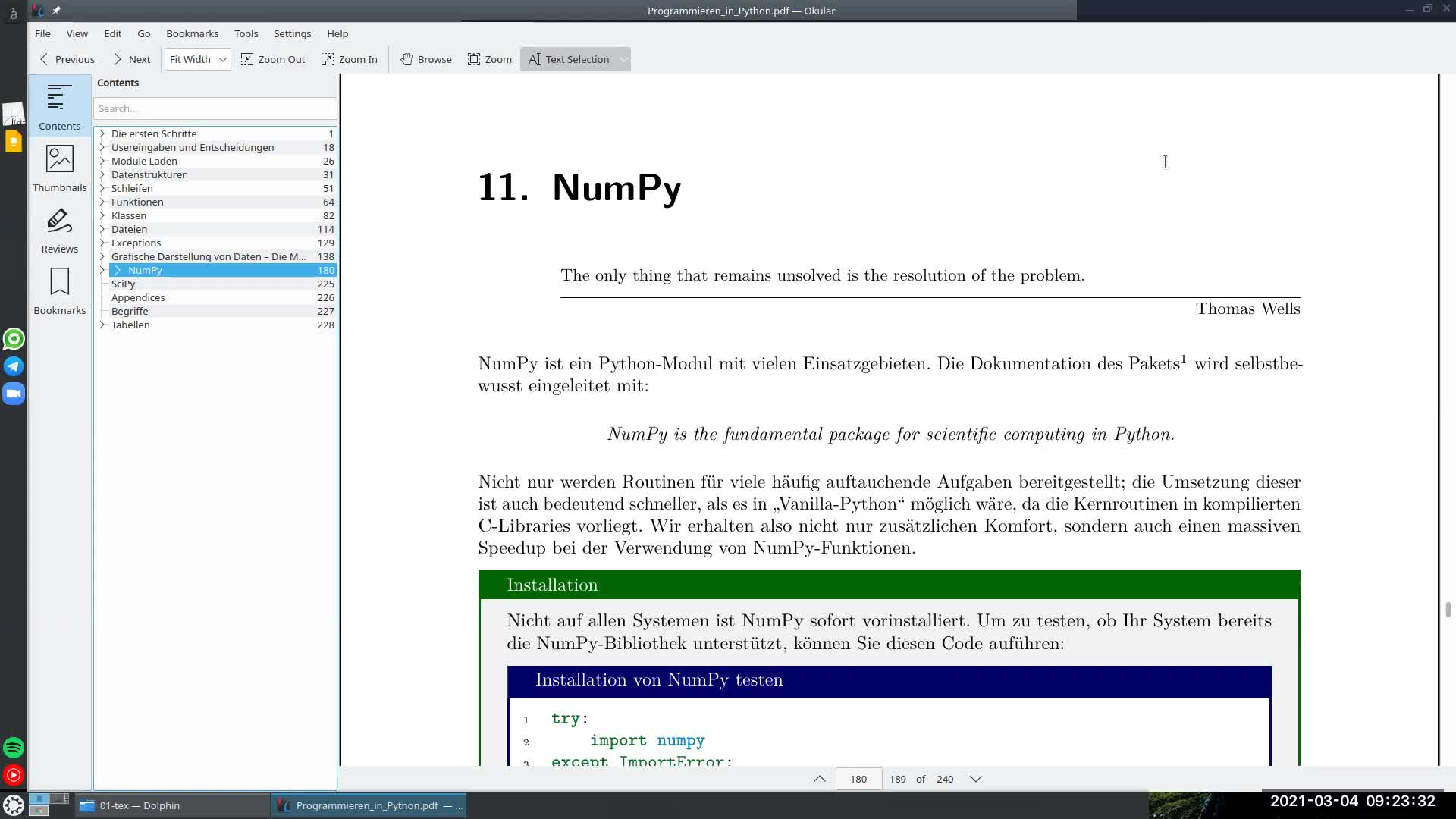 Lecture 09: NumPy