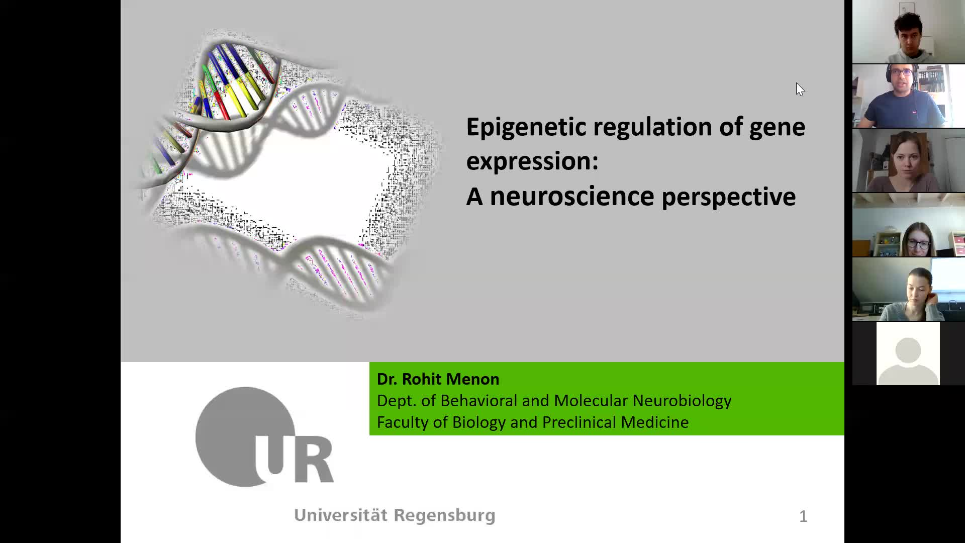 Epigenetic regulation of gene expression: a neuroscience perspective
