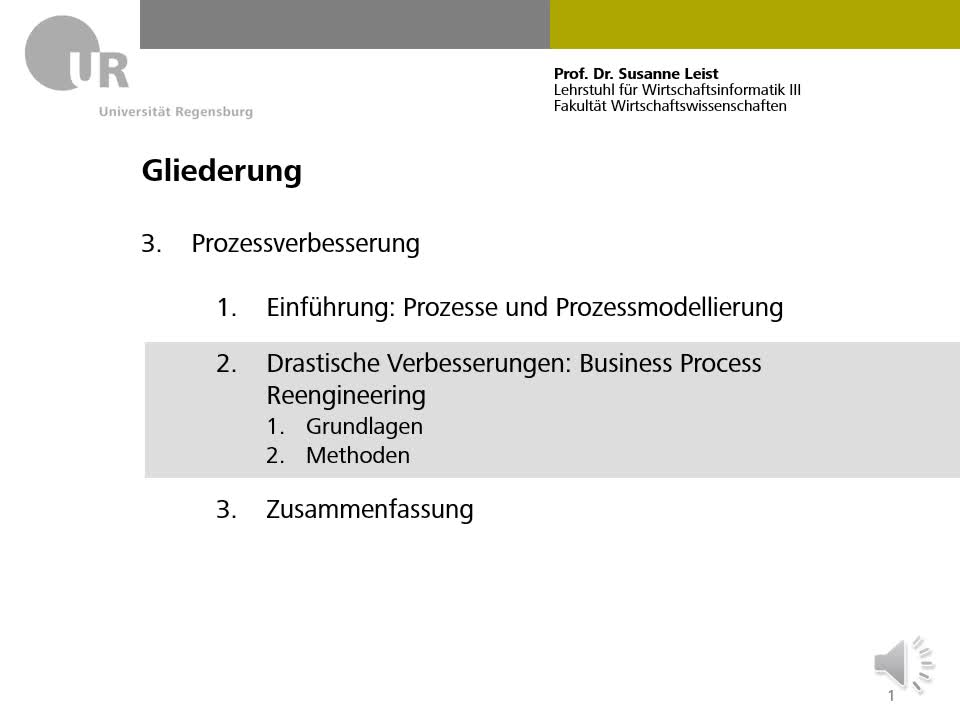 Business Process Reengineering Teil 2