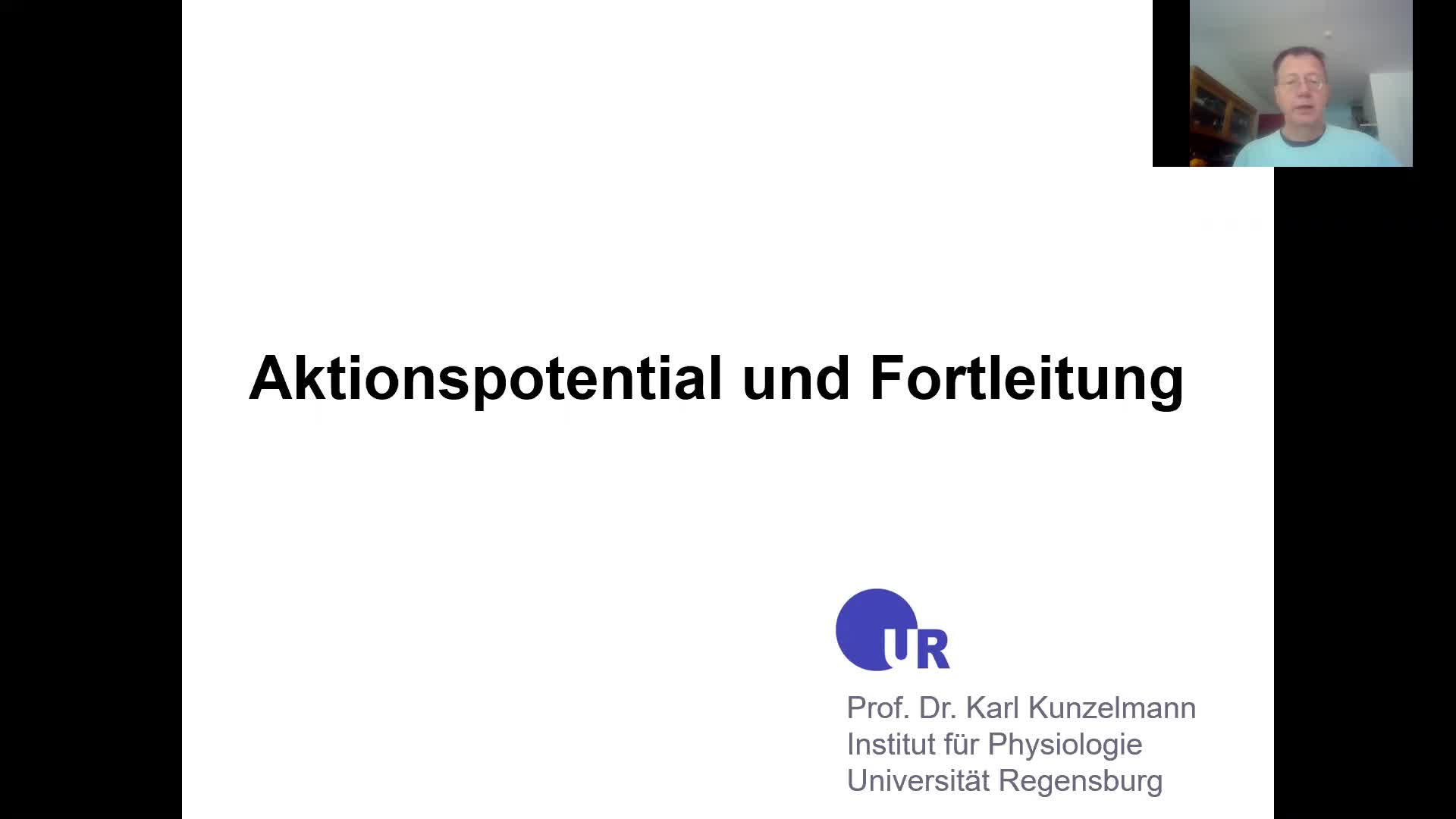 4. Aktionspotential und Fortleitung