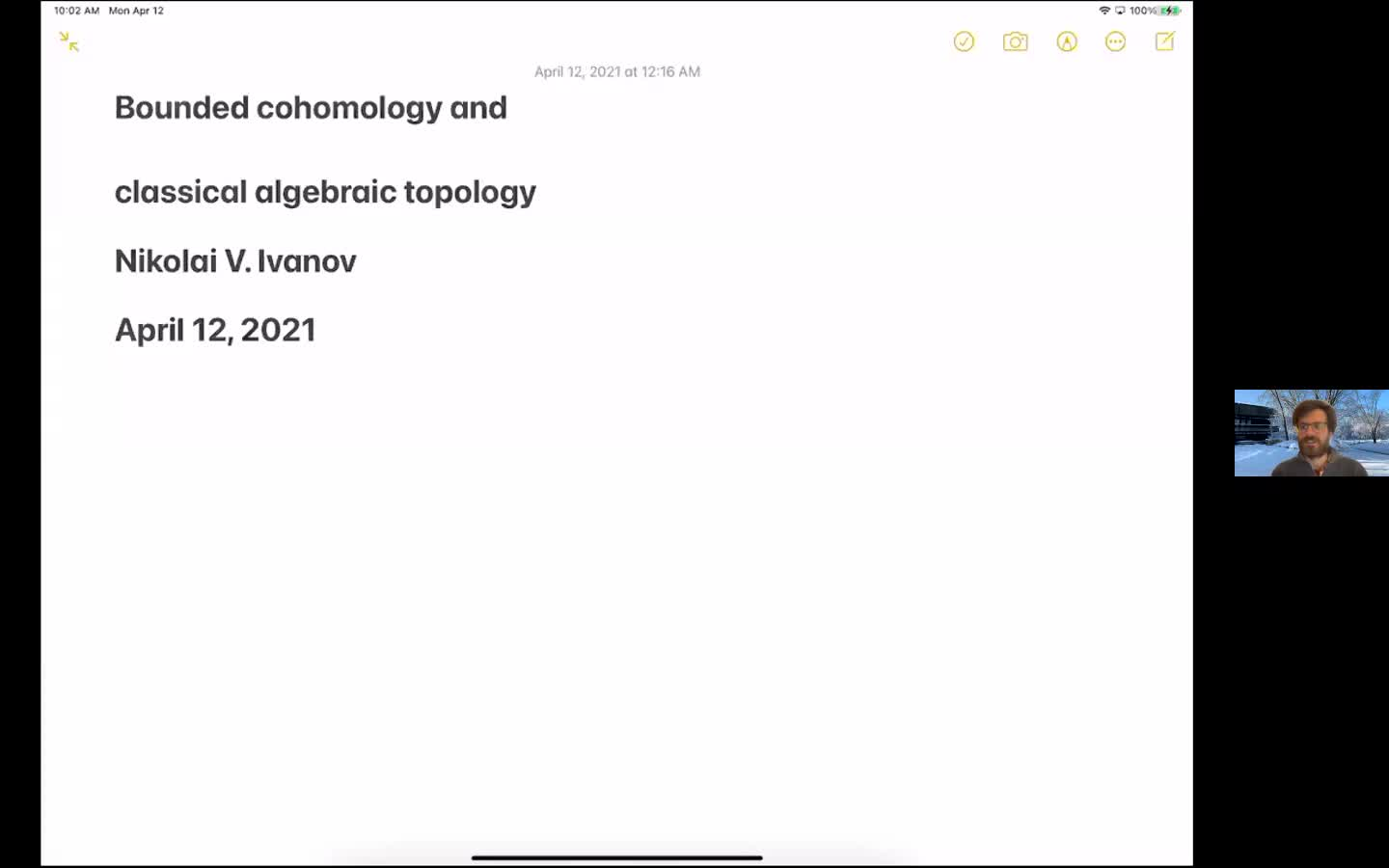 Bounded cohomology and classical algebraic topology