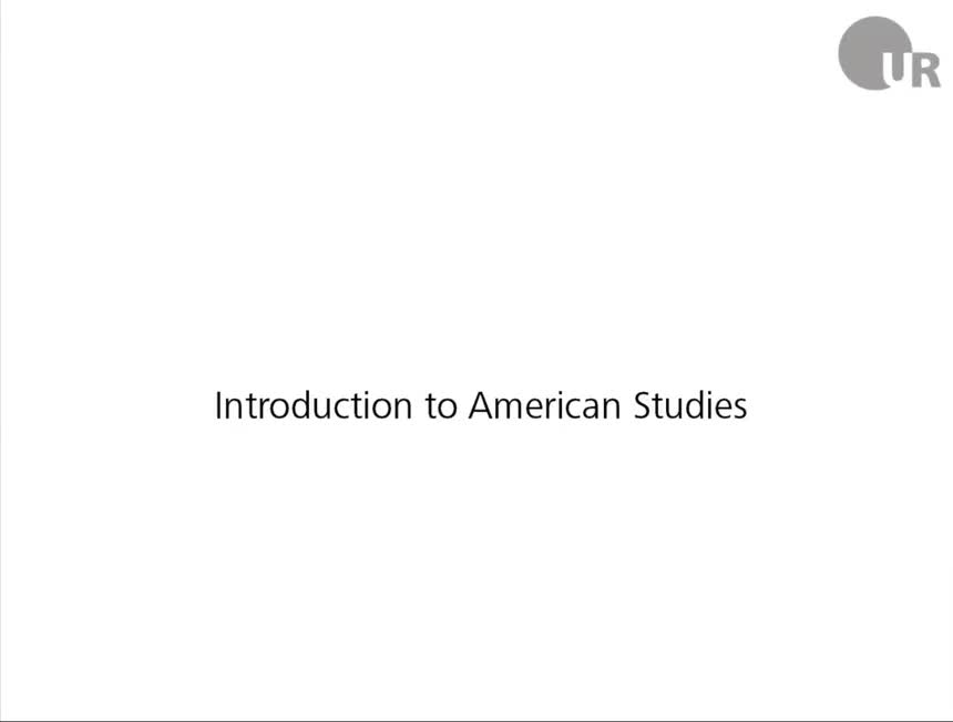 Session 1: Introduction to American Studies