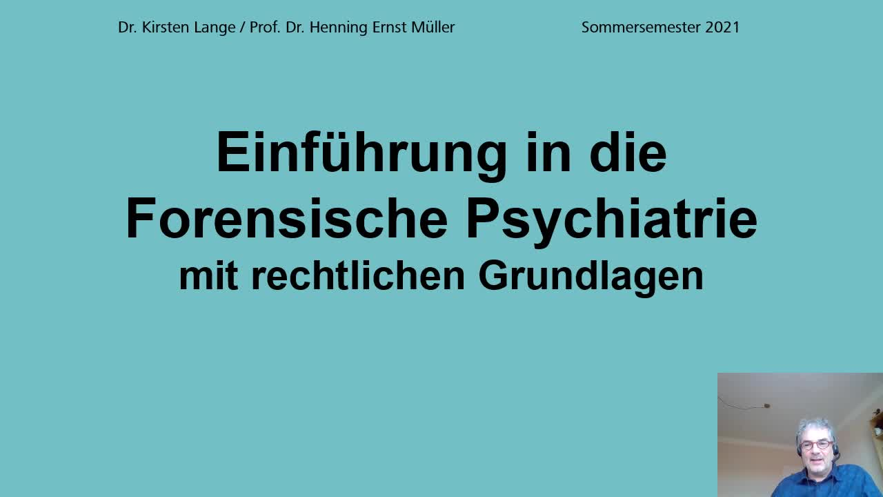 Einf. in die For. Psychiatrie Teil 2