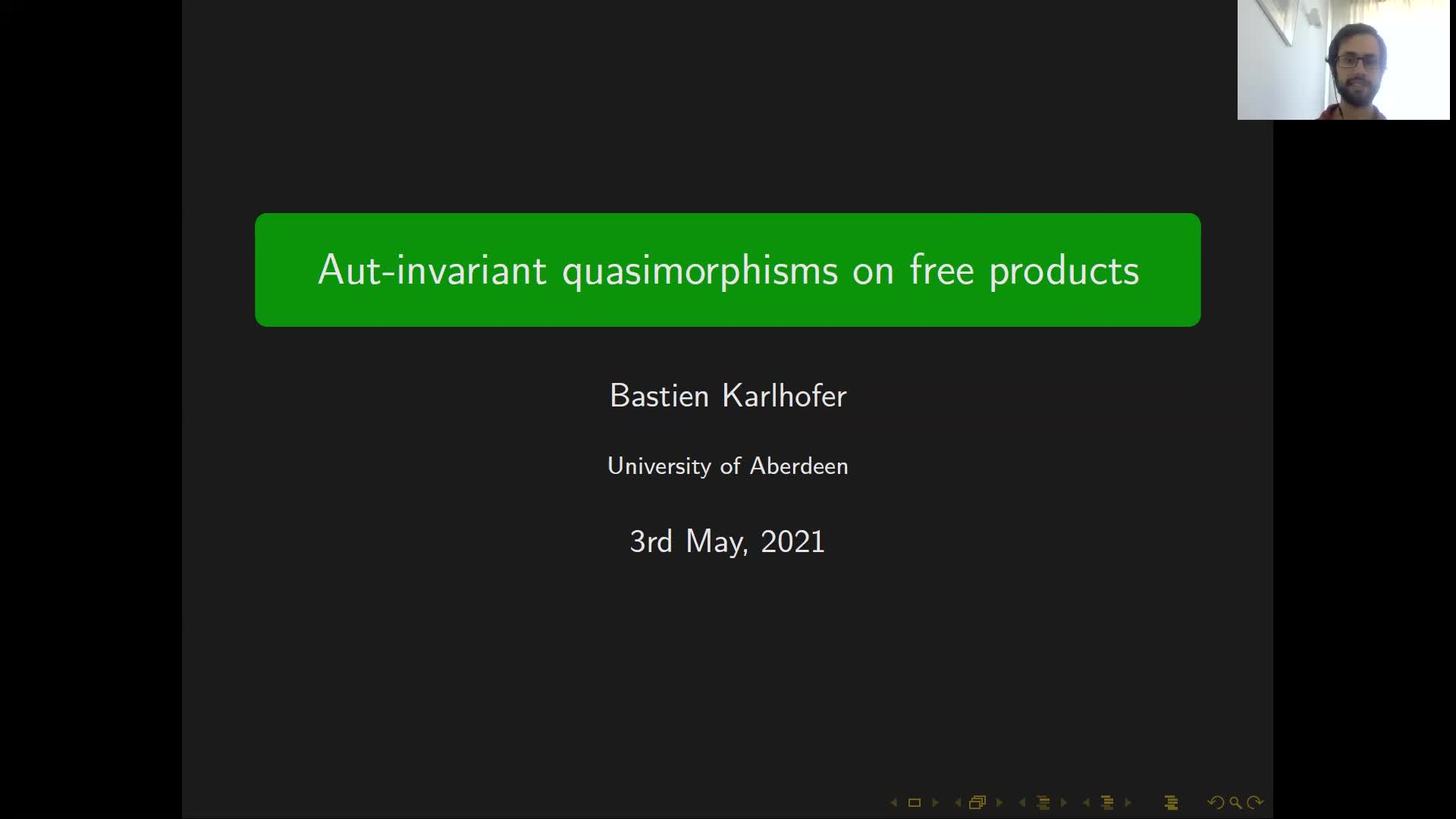 Aut-invariant quasimorphisms on free products