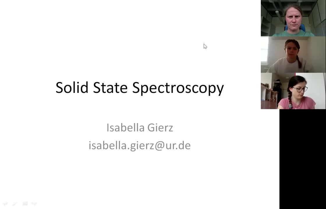 Solid State Spectroscopy 20210504: Raman and IR Spectroscopy