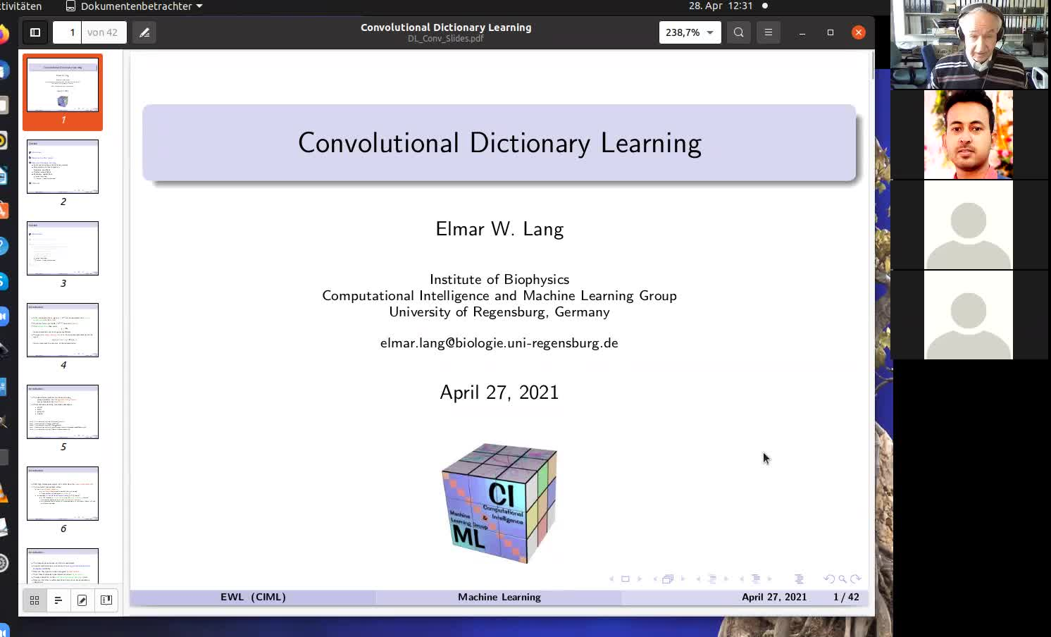 Convolutional Dictionary Learning
