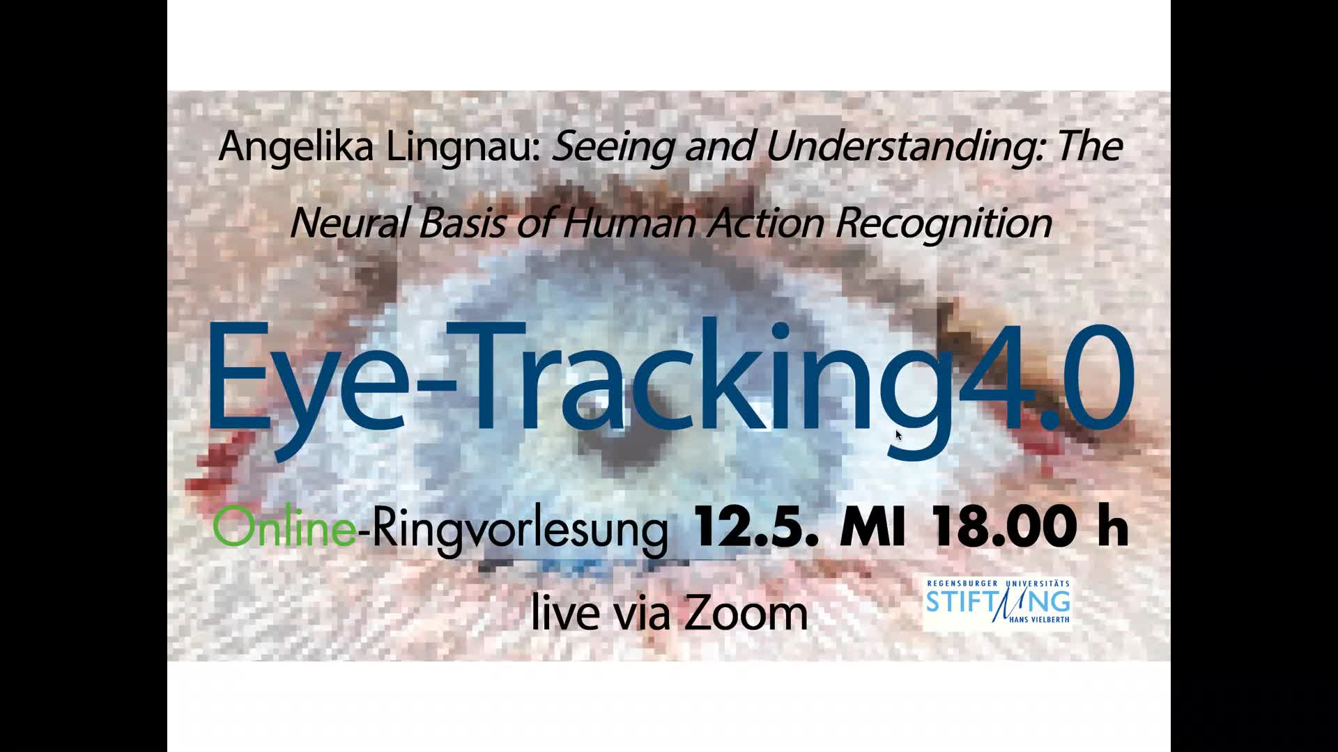 Angelika Lingnau (Psychologie) Seeing and Understanding: The Neural Basis of Human Action Recognition