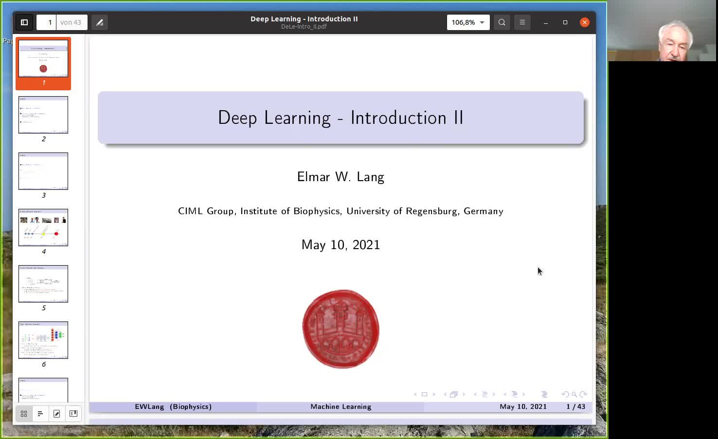 Deep Learning - Introduction 2