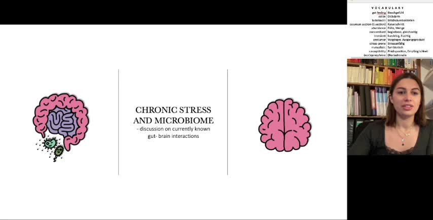 Chronic stress and microbiome