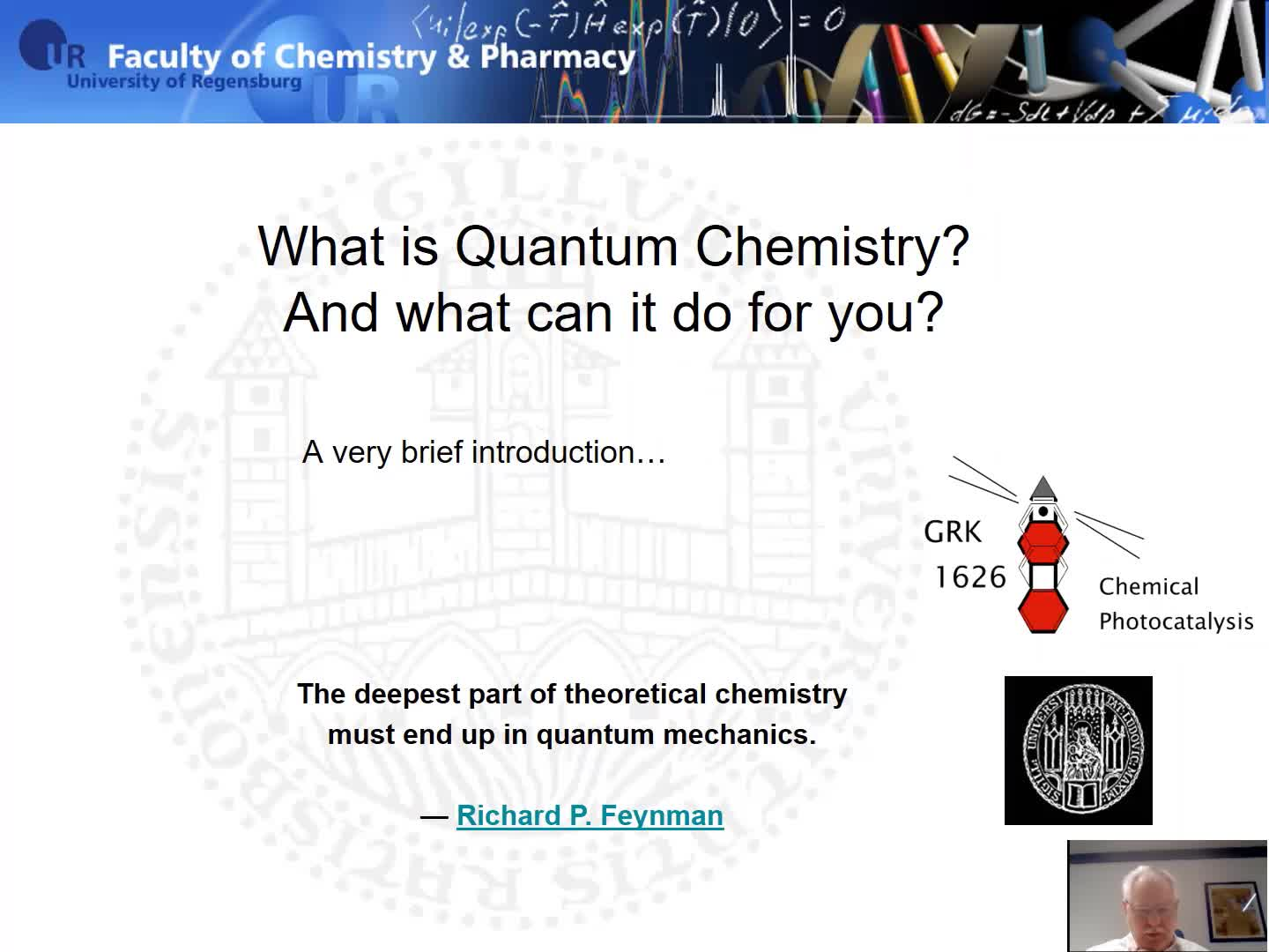 What is Quantum Chemistry? And what can it do for you?