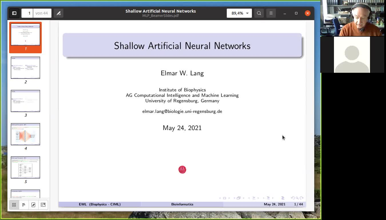 Shallow Neural Networks