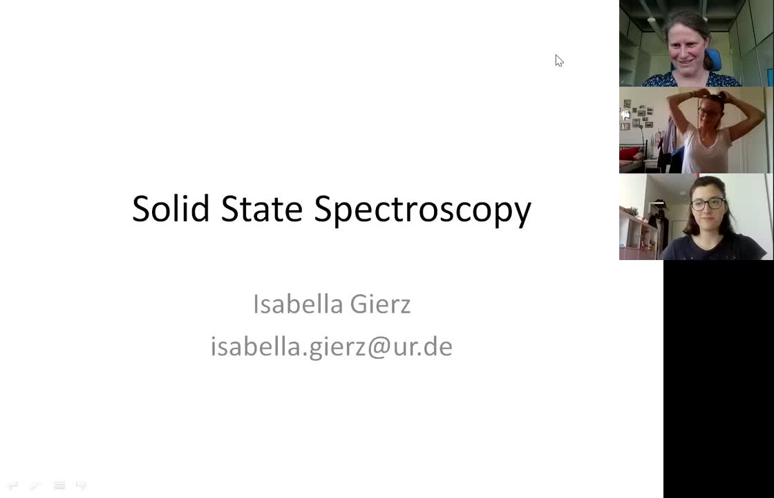 Solid State Spectroscopy 20210610: nanoARPES, spin-resolved ARPES, LEED