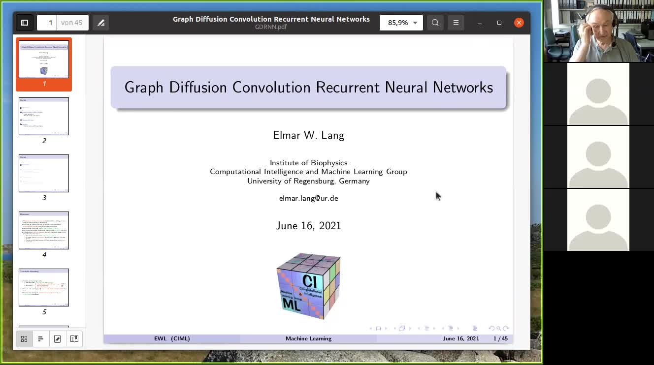 Graph Diffusion Convolution Recurrent Neural networks