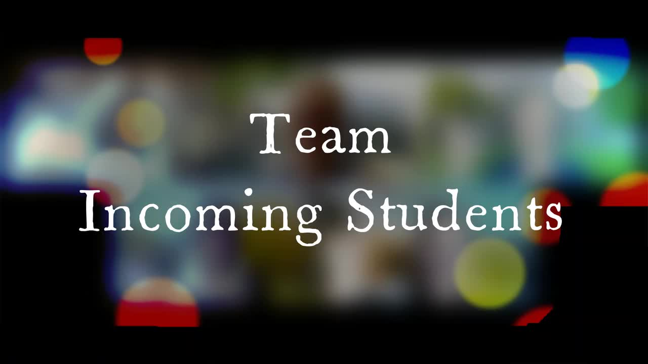 Meet the IO team - Incoming Students