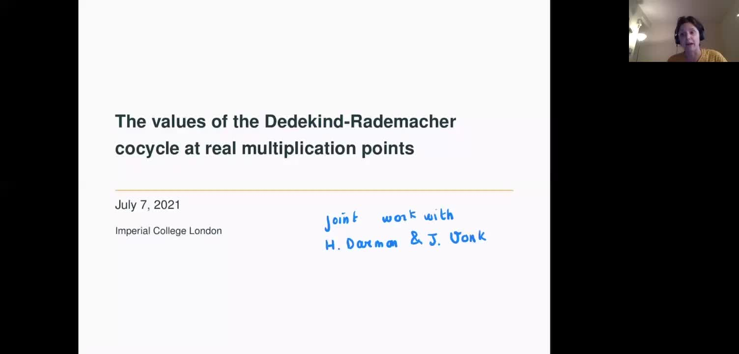 The values of the Dedekind-Rademacher cocycle at real multiplication points