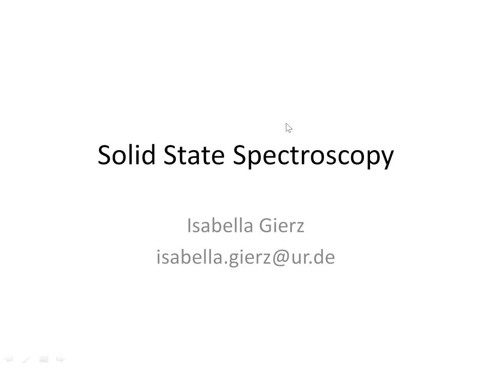 Solid State Spectroscopy 20210708: Attosecond Pulses